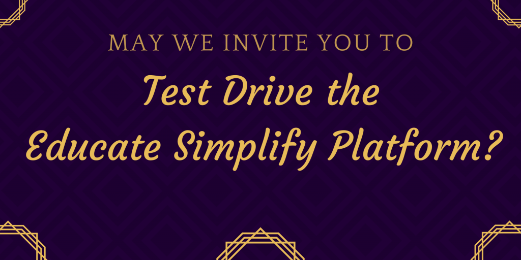 educate-simplify-platform-test-drive