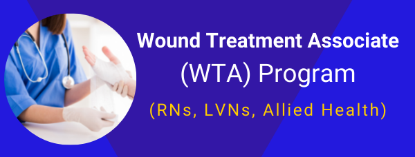 Wound care course certification